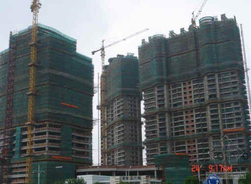 模板逆作法施工提高混凝土质量(QC)