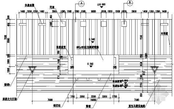 木栈道结构图