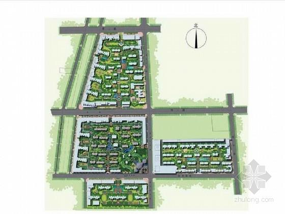[河南]西班牙风情小镇园林景观设计方案