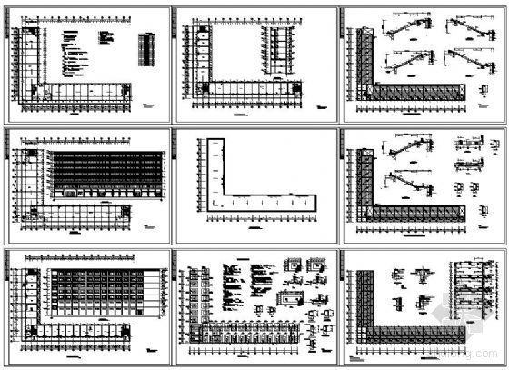 [学士]某七层综合办公楼建筑结构图