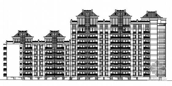 厦门市某九层住宅建筑施工图(底层架空)