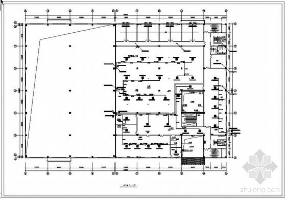 某厂房空调图纸资料下载-某厂房多联机全套空调图纸