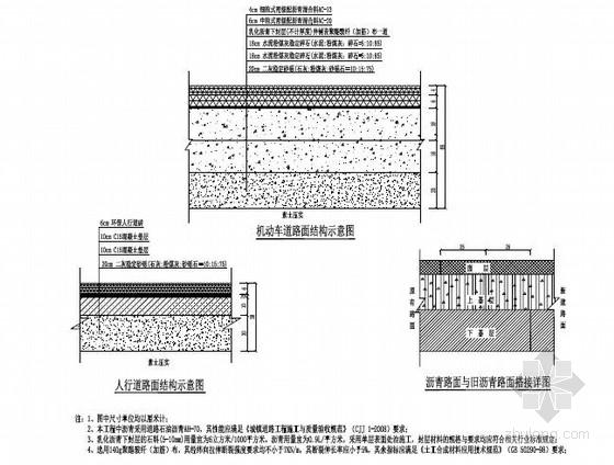 市政道路施工图(设计院)图片
