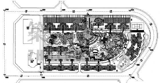 某小区中心游园景观设计