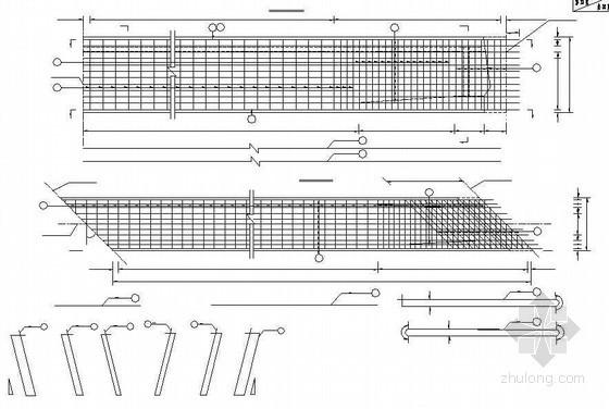 20米后张法预应力空心箱梁箱梁钢筋构造节点详图设计