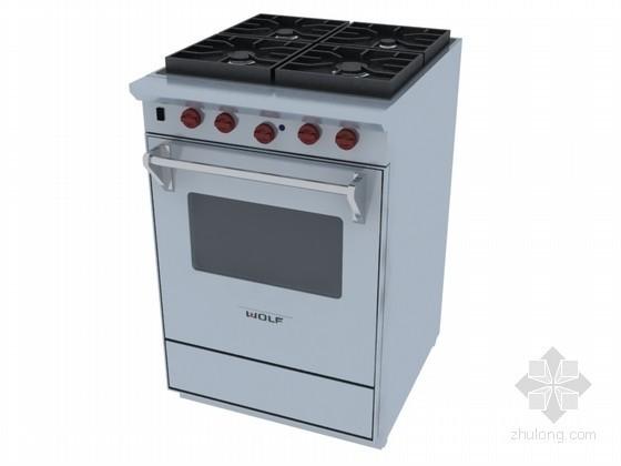 厨房家电3D模型下载