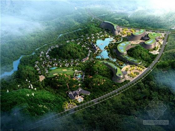 [贵州]东南亚风格度假养生酒店规划设计方案文本