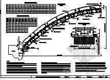 某大桥拱圈混凝土现浇钢拱架初步施工方案及钢拱架初步验算