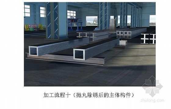 [广东]铁路站房工程钢结构施工组织设计(钢管桁架)