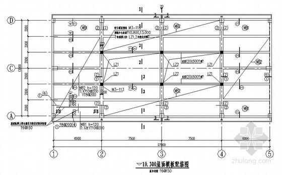 [广东]框架结构厂房结构施工图(柱下独立基础)