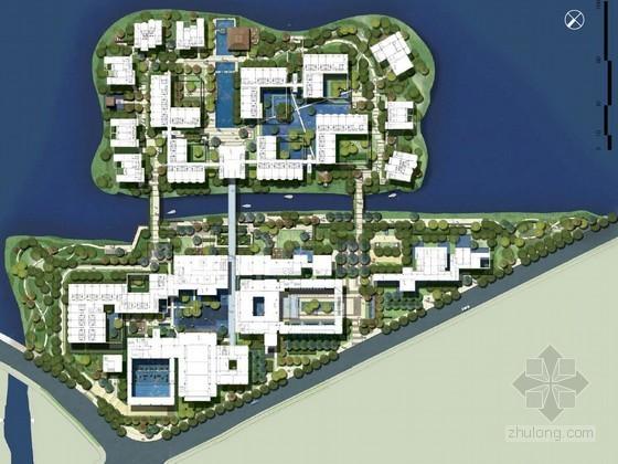 [上海]花园居住区景观概念设计方案
