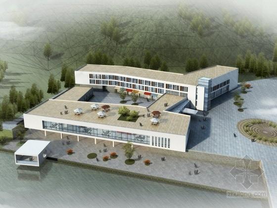 [山东]3层旅游度假村会所建筑设计方案文本