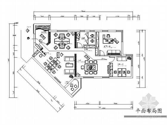 [武汉]装饰公司办公区装修图
