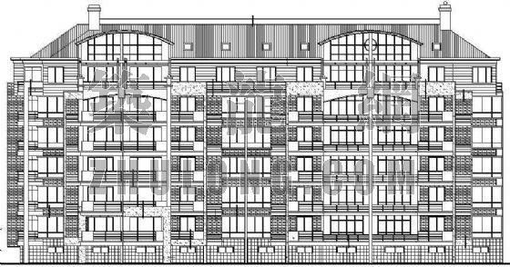某小区整套多层住宅施工图