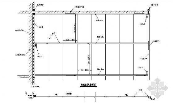 基本农田土地整理标准田块布置图