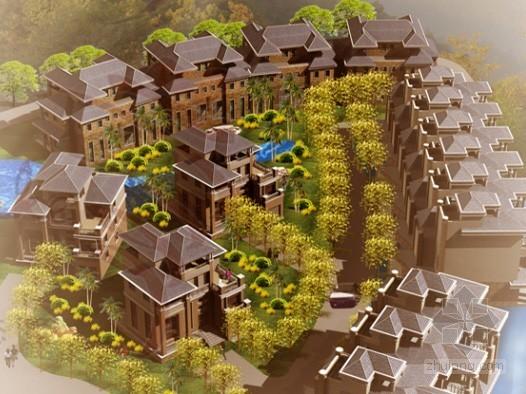 某别墅度假村方案设计文本