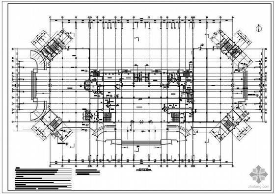 某二十三层综合大厦建筑施工图-2