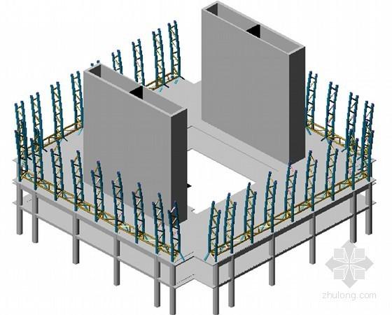 超高层商住楼工程屋面钢结构工程施工方案(附图丰富)