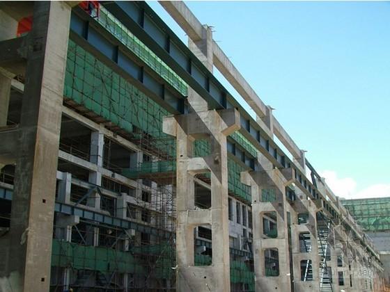 单层工业厂房现浇混凝土双肢柱施工工法