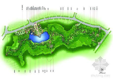 上海黄埔区某公园景观设计