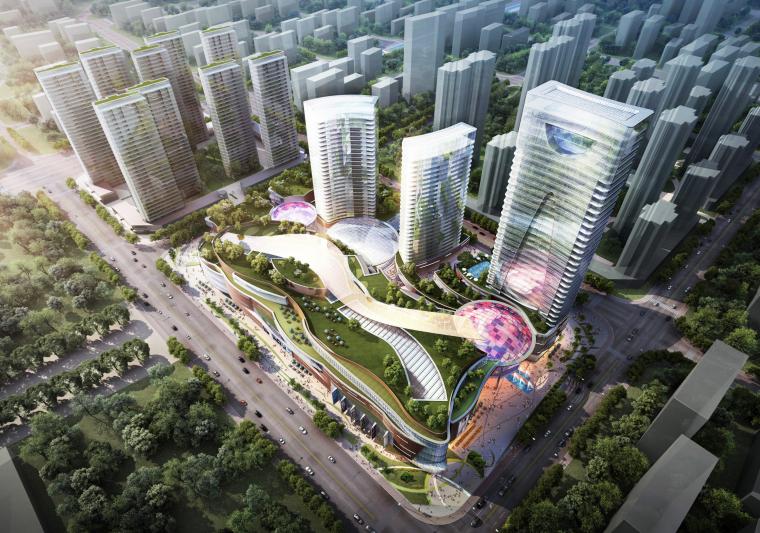 [浙江]台州某知名地产商住综合体设计方案文本(PDF)