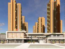[广东]广州万科里享家居住区建筑模型设计(2018年资料)