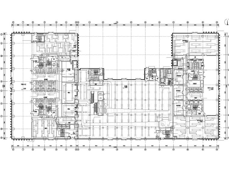 [海南]超高层商业办公楼通风及防排烟系统设计施工图(人防设计)