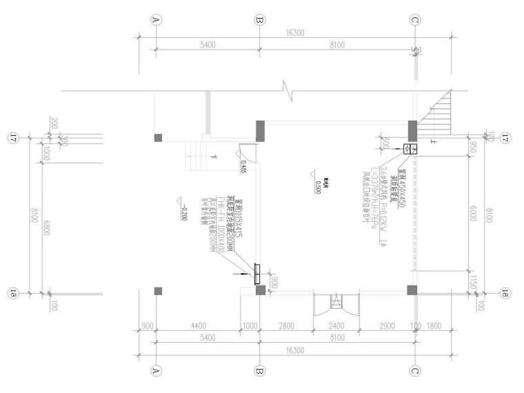 [浙江]美食街通风及防排烟系统设计施工图