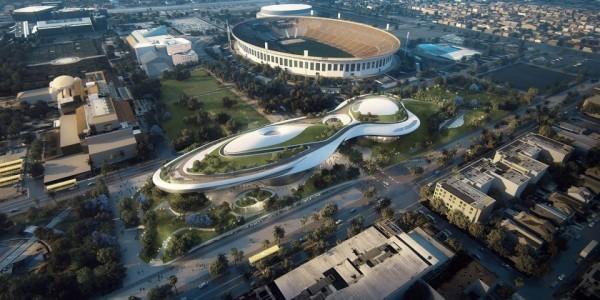 卢卡斯博物馆落址洛杉矶,造价10亿美元中国建筑师马岩松设计