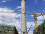 120m大直径烟囱角钢内井架移置模板施工工法