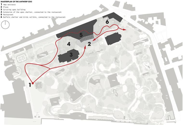 当代Antwerp动物园改建-12