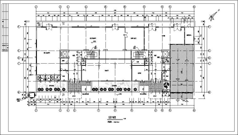 现代高层商住楼建筑设计方案初设图CAD-6