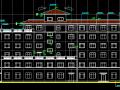 地上七层酒店建筑全套图