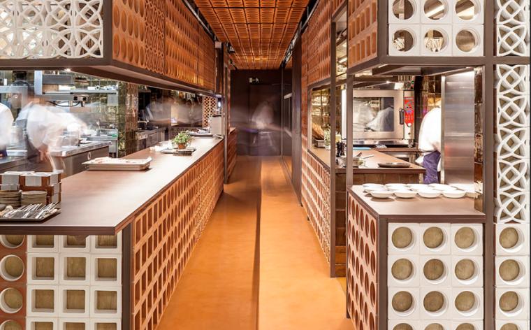 西班牙CreativoDisfrutar餐厅室内设计方案