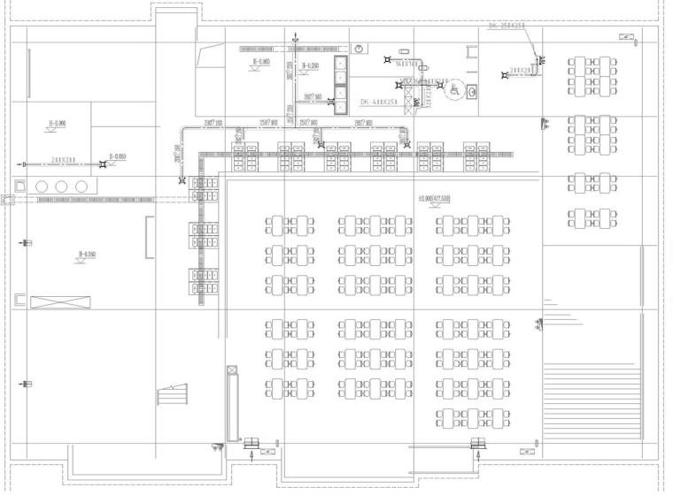 [重庆]高等教育院校多个建筑通风防排烟系统设计施工图(含计算书)