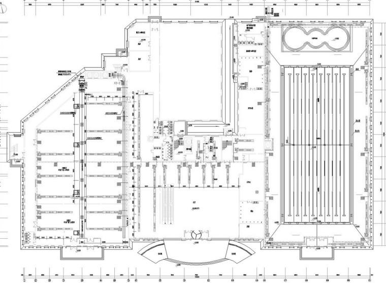 [黑龙江]现代高档酒店空调通风防排烟系统设计施工图(采暖设计)