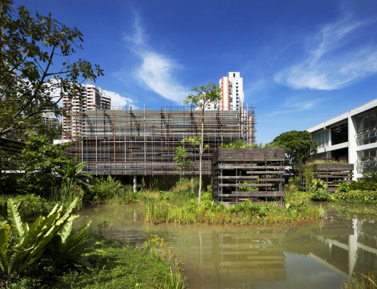 新加坡红山职业学院的改造