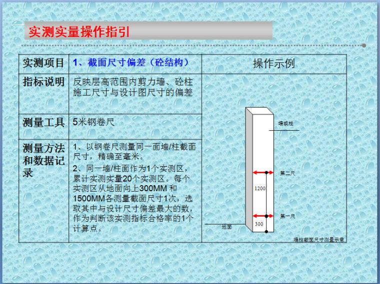 [中铁]实测实量方法实施细则