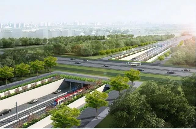 三次翻交横穿G1501,建罕见桥梁,这两个工程这样打通城市断头路