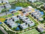[安徽]某财贸学院龙湖东校区校园总体规划设计文本(包含PDF+CAD)