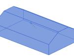 墙下条形基础-坡形截面底板