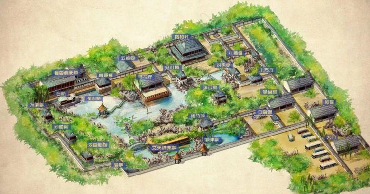 设计干货丨南方实习苏杭经典园林平面图_7