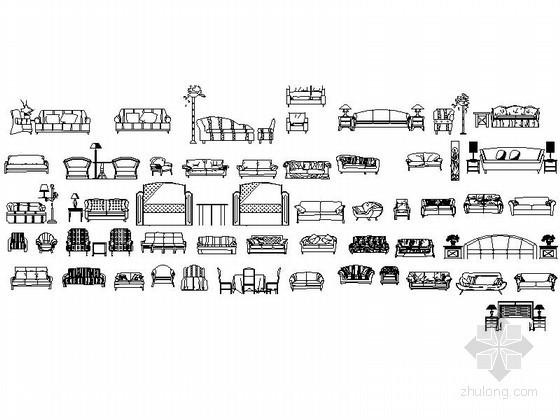全套家具CAD图块下载