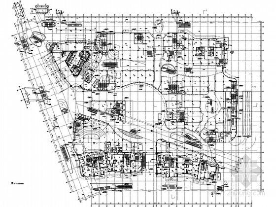 [江苏]五十一万平大型综合楼消防系统电气图纸(含五星酒店、公寓式办公等)