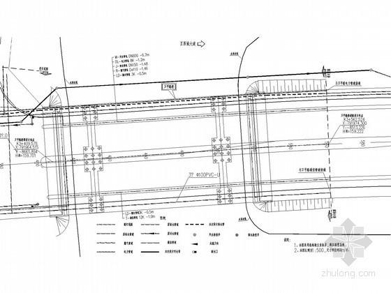 [广西]桥梁给水排水管线布置施工图(雨水部分)