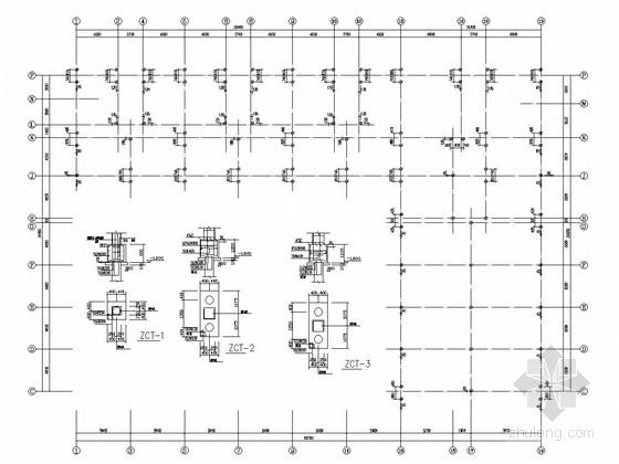 [辽宁]六层框架结构住宅楼结构施工图(含建筑图)