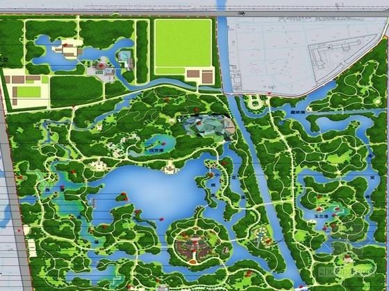 [上海]海派园林江南水乡植物园景观设计方案