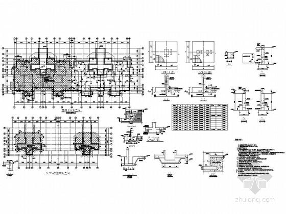 [安徽]地上6F+1层抗震墙结构多层住宅楼结构施工图