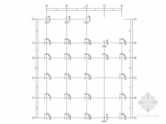 [福建]4S店带夹层轻钢结构施工图(含建施、计算书)