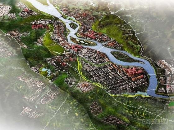 [四川]森林生态城市区域景观规划设计方案